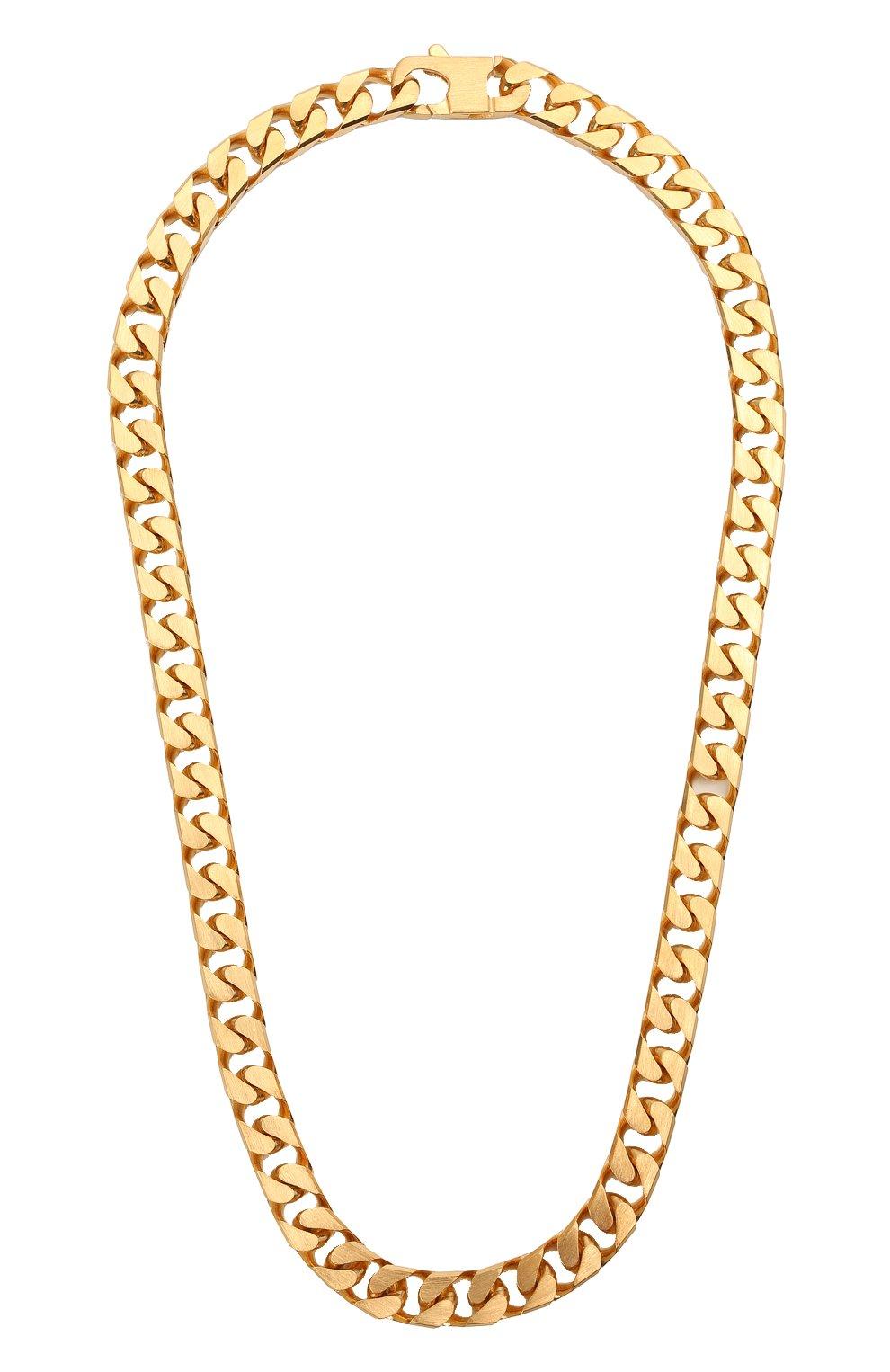 Мужского цепь OFF-WHITE золотого цвета, арт. 0M0B080R21MET0017600 | Фото 1