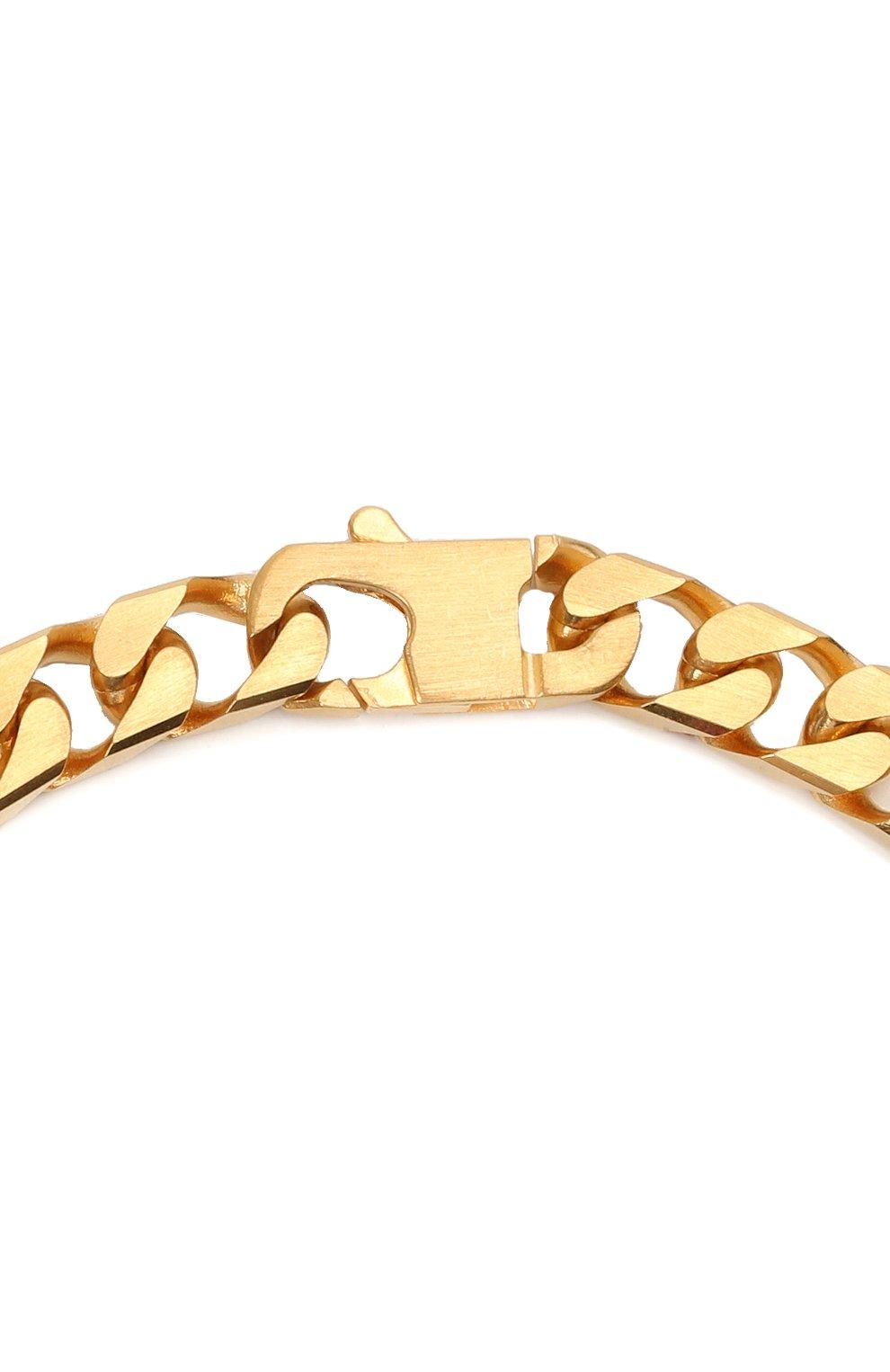 Мужского цепь OFF-WHITE золотого цвета, арт. 0M0B080R21MET0017600 | Фото 3
