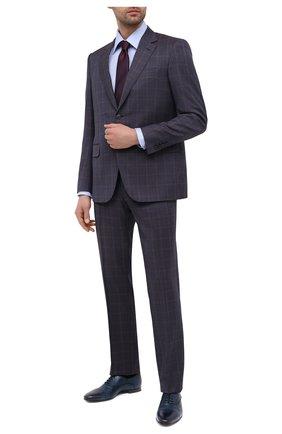 Мужские кожаные оксфорды BARRETT синего цвета, арт. 141U002.8/C0RSAR0 | Фото 2