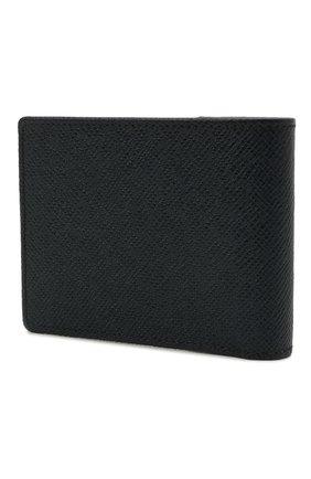 Мужской кожаное портмоне BOSS темно-синего цвета, арт. 50446651 | Фото 2