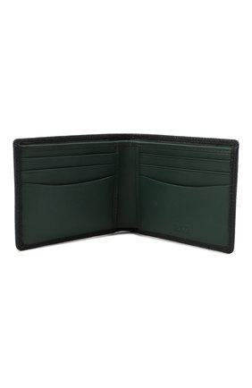 Мужской кожаное портмоне BOSS темно-синего цвета, арт. 50446651 | Фото 3