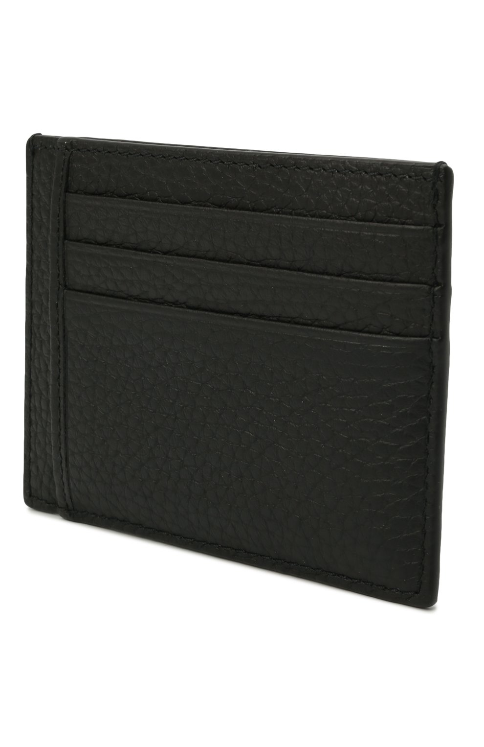 Мужской кожаный футляр для кредитных карт BOSS черного цвета, арт. 50441034 | Фото 2