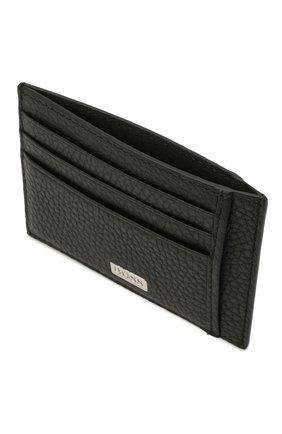 Мужской кожаный футляр для кредитных карт BOSS черного цвета, арт. 50441034 | Фото 3