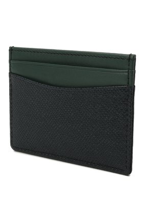 Мужской кожаный футляр для кредитных карт BOSS темно-синего цвета, арт. 50447004 | Фото 2