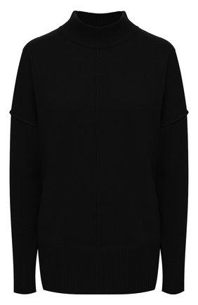 Женский кашемировый свитер BOSS черного цвета, арт. 50444485 | Фото 1