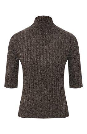Женский пуловер из вискозы GANNI коричневого цвета, арт. K1464 | Фото 1