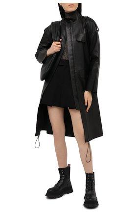 Женский пуловер из вискозы GANNI коричневого цвета, арт. K1464 | Фото 2