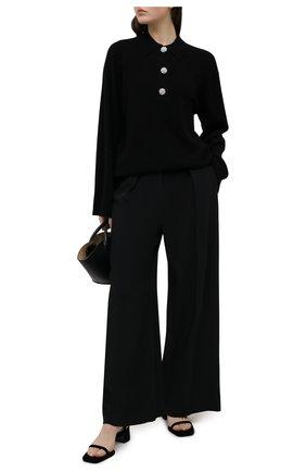 Женский кашемировый свитер GANNI черного цвета, арт. K1446 | Фото 2