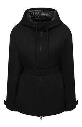 Женский пуховая куртка MONCLER черного цвета, арт. G1-093-1A53H-20-54AWE   Фото 1