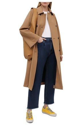Женские джинсы 3X1 синего цвета, арт. WX1091095/RIVER BLUE | Фото 2