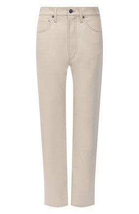 Женские брюки AGOLDE белого цвета, арт. A164-1285 | Фото 1