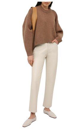 Женские брюки AGOLDE белого цвета, арт. A164-1285 | Фото 2
