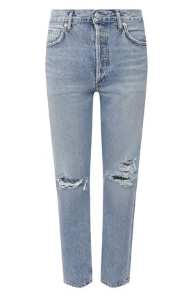 Женские джинсы AGOLDE синего цвета, арт. A045E-1139   Фото 1
