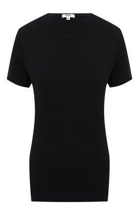 Женская хлопковая футболка AGOLDE синего цвета, арт. A7047   Фото 1