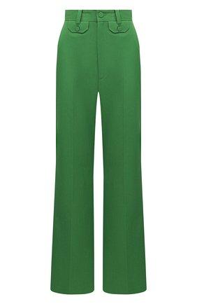 Женские брюки GUCCI зеленого цвета, арт. 643346/ZAFU9 | Фото 1