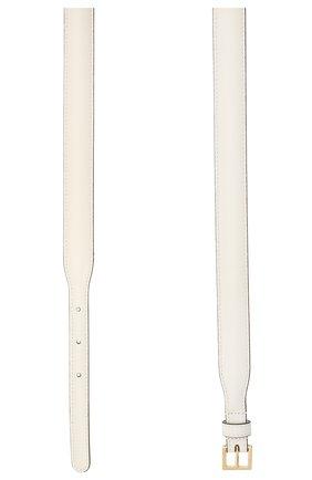 Женский кожаный ремень GUCCI белого цвета, арт. 644397/1NS0G   Фото 2