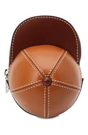Женская сумка nano cap JW ANDERSON коричневого цвета, арт. HB0232 LA0020 | Фото 1