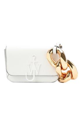Женская сумка chain anchor JW ANDERSON белого цвета, арт. HB0285 LA0020 | Фото 1