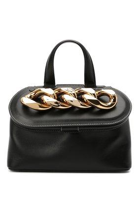 Женская сумка chain lid JW ANDERSON черного цвета, арт. HB0317 LA0020 | Фото 1