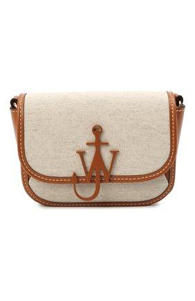 Женская сумка webbing anchor JW ANDERSON бежевого цвета, арт. HB0346 FA0038 | Фото 1