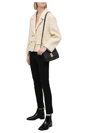 Женские кожаные ботинки marmada CHRISTIAN LOUBOUTIN черного цвета, арт. 3191009/MARMADA FLAT | Фото 2
