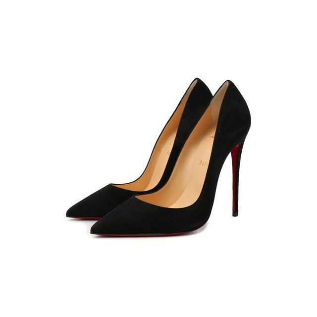 Замшевые туфли So Kate 120 Christian Louboutin