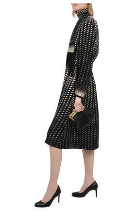 Женские кожаные туфли simple pump 85 CHRISTIAN LOUBOUTIN черного цвета, арт. 3160586/SIMPLE PUMP 85 | Фото 2