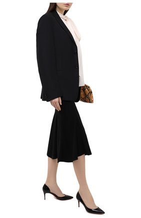 Женские кожаные туфли iriza 70 CHRISTIAN LOUBOUTIN черного цвета, арт. 3160842/IRIZA 70 | Фото 2