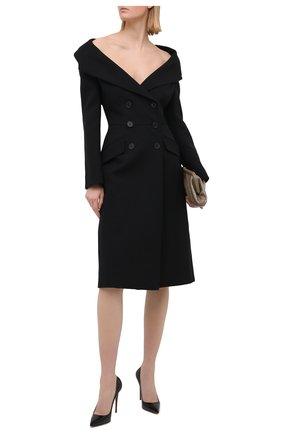 Женские кожаные туфли kate 100 CHRISTIAN LOUBOUTIN черного цвета, арт. 3191411/KATE 100 | Фото 2