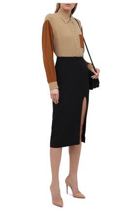 Женские кожаные туфли kate 100 CHRISTIAN LOUBOUTIN бежевого цвета, арт. 3191411/KATE 100 | Фото 2