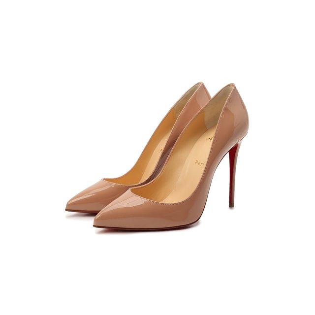 Кожаные туфли Pigalle Follies 100 Christian Louboutin