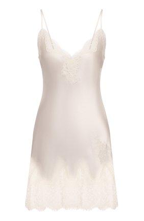 Женская шелковая сорочка AUBADE белого цвета, арт. MS42 | Фото 1