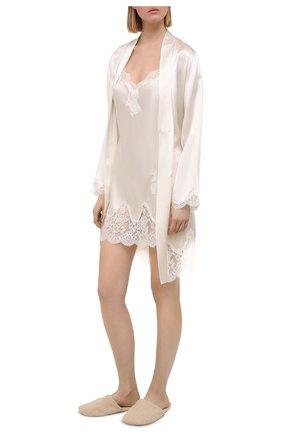 Женская шелковая сорочка AUBADE белого цвета, арт. MS42 | Фото 2