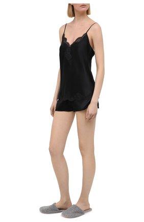 Женские шелковые шорты AUBADE черного цвета, арт. MS61 | Фото 2