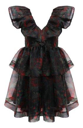 Женское платье GANNI черного цвета, арт. F5695 | Фото 1