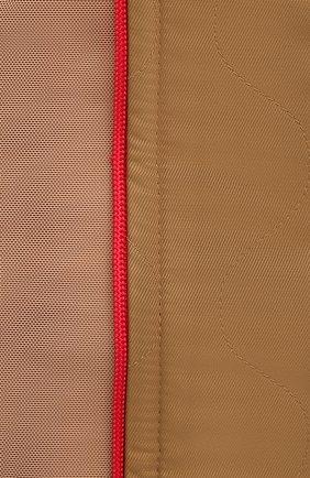 Женское платье BURBERRY бежевого цвета, арт. 8037152 | Фото 5