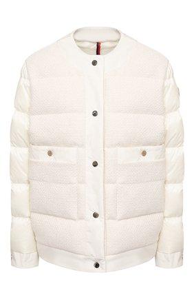 Женский пуховая куртка MONCLER белого цвета, арт. G1-093-1A53X-00-54AU4 | Фото 1