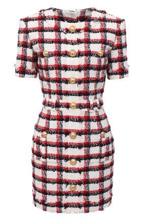 Женское платье BALMAIN разноцветного цвета, арт. VF16127/W092 | Фото 1