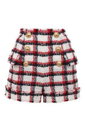 Женские шорты BALMAIN разноцветного цвета, арт. VF15002/W092 | Фото 1