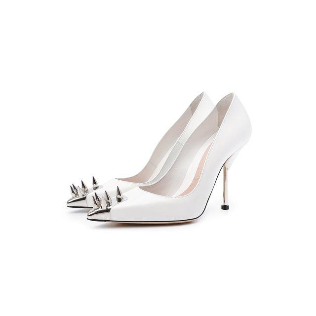 Кожаные туфли Alexander McQueen