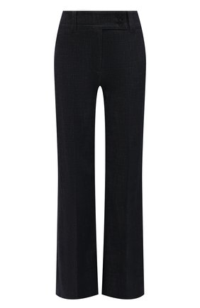 Женские хлопковые брюки WINDSOR темно-синего цвета, арт. 52 DHE513 10011420 | Фото 1