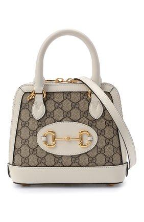 Женская сумка gg 1955 horsebit GUCCI белого цвета, арт. 640716/92TCG | Фото 6
