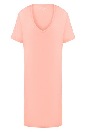 Женская сорочка DEREK ROSE светло-розового цвета, арт. 1207-LARA001 | Фото 1