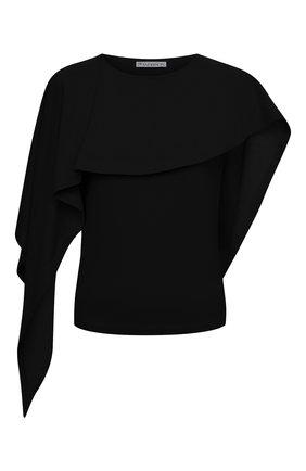 Женская хлопковая блузка JW ANDERSON черного цвета, арт. J00014 PG0079 | Фото 1
