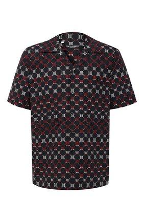 Мужская хлопковая рубашка DOLCE & GABBANA разноцветного цвета, арт. G5FX9T/HS5JD | Фото 1