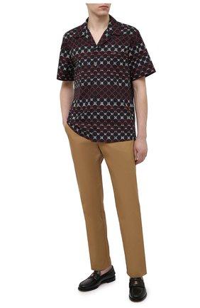 Мужская хлопковая рубашка DOLCE & GABBANA разноцветного цвета, арт. G5FX9T/HS5JD | Фото 2