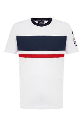 Мужская хлопковая футболка PAUL&SHARK разноцветного цвета, арт. 21411010/C00 | Фото 1