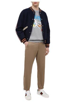 Кожаные кеды Ace Disney x Gucci | Фото №2