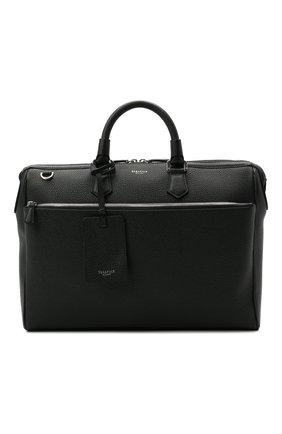 Мужская кожаная сумка для ноутбука SERAPIAN темно-синего цвета, арт. SRCCHMLL621838B | Фото 1