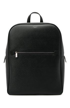 Мужской кожаный рюкзак evoluzione SERAPIAN темно-синего цвета, арт. SREVLMLL700631C | Фото 1